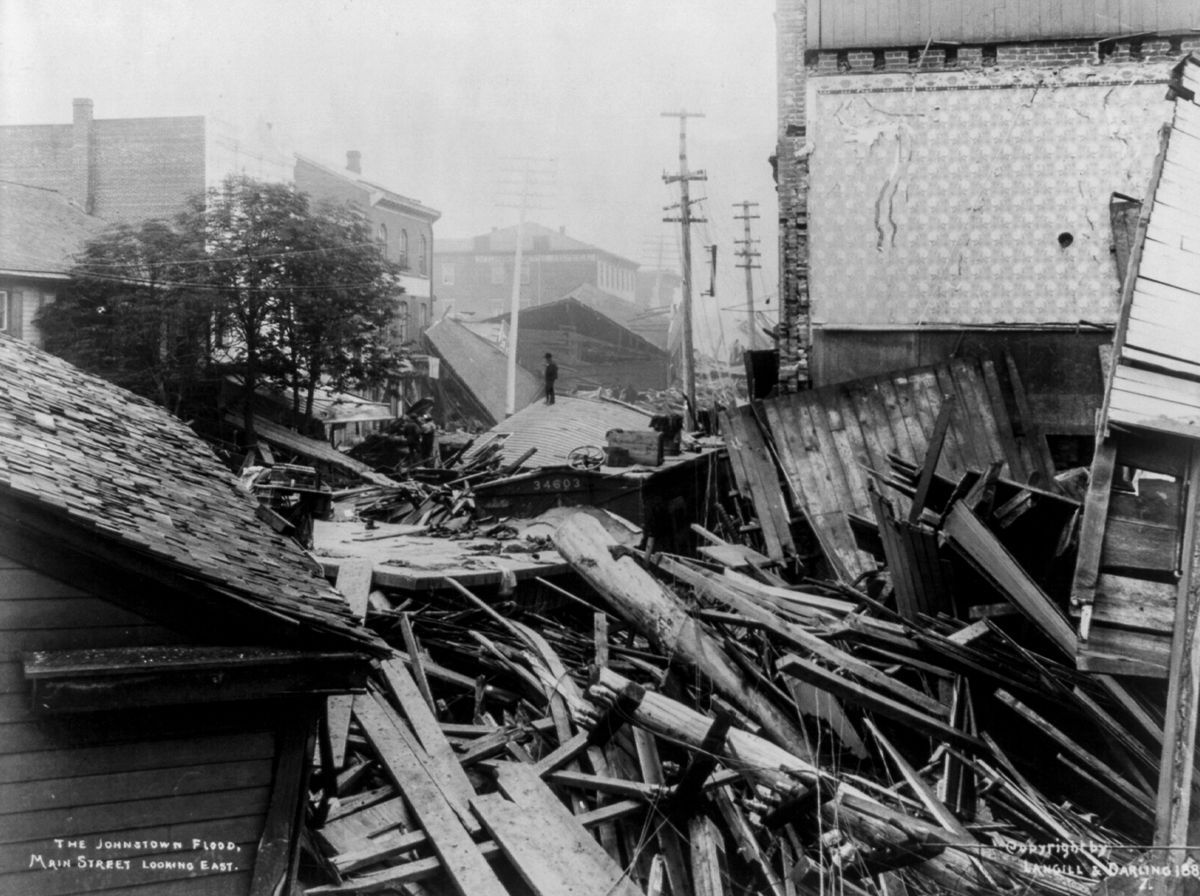 the johnstown flood Neatorama is proud to bring you a guest post from history buff and neatoramanaut wtm, who wishes to remain otherwise anonymous at the 1901 pan-american exposition in buffalo, new york, there was found on the midway an interactive 'scenograph' exhibit of something called the &ldquojohnstown flood&rdquo.