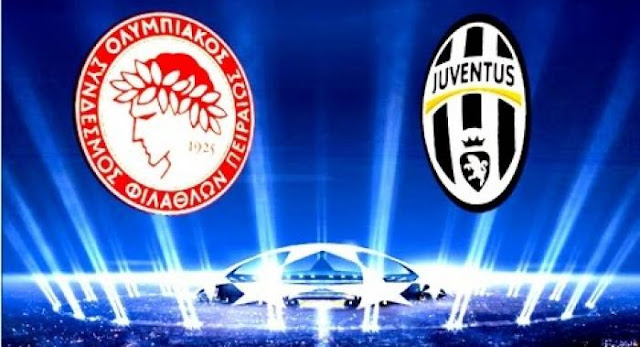 ΟΛΥΜΠΙΑΚΟΣ - ΓΙΟΥΒΕΝΤΟΥΣ  Olympiakos - Juventus   live streaming