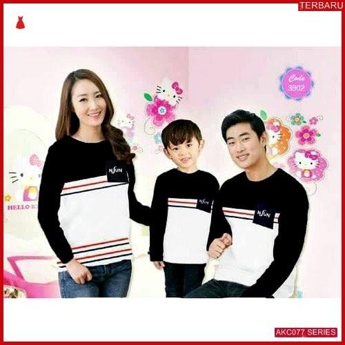 AKC077K120 Kaos Couple Baju Anak 077K120 Keluarga Family BMGShop