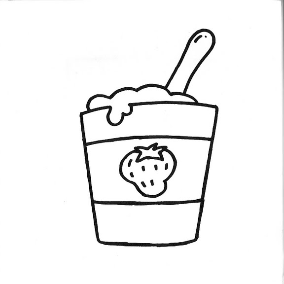Batidos Para Colorear Dibujos Infantiles Dibujo
