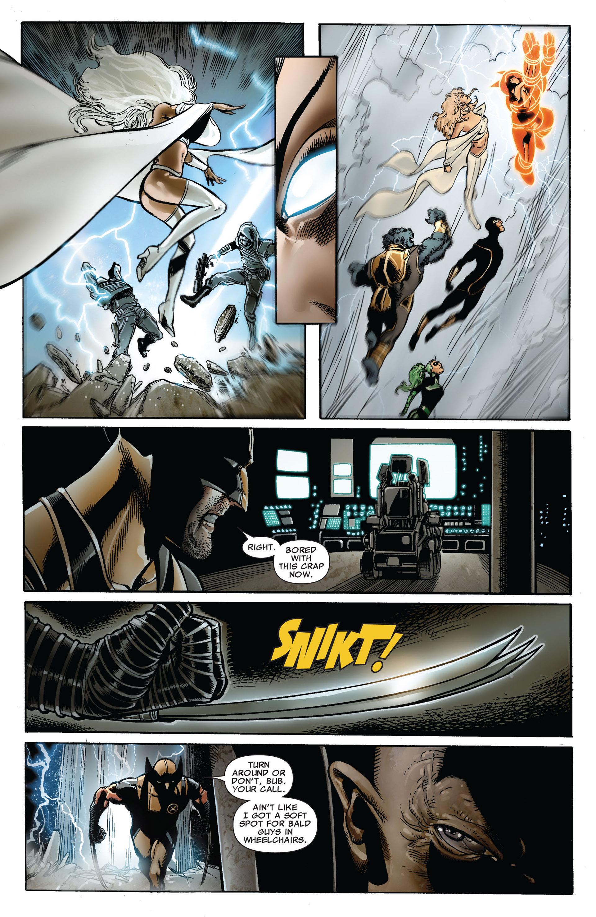 Read online Astonishing X-Men (2004) comic -  Issue #35 - 13