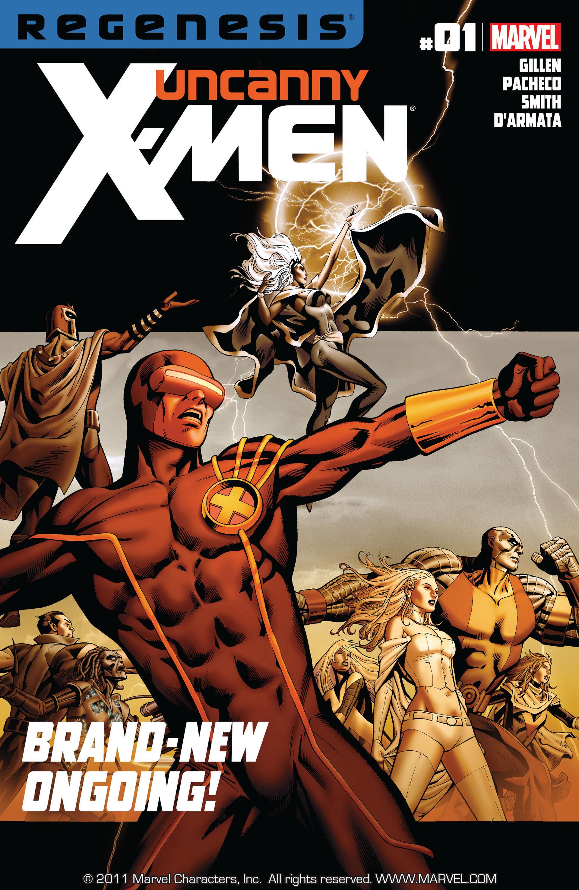 Read online Uncanny X-Men (2012) comic -  Issue #1 - 1