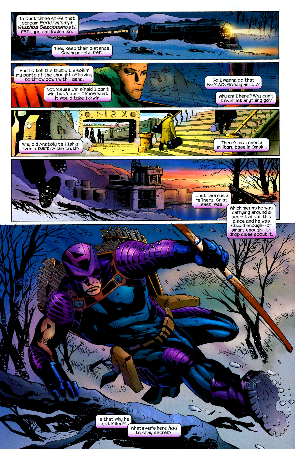 Hawkeye (2003) Issue #8 #8 - English 10