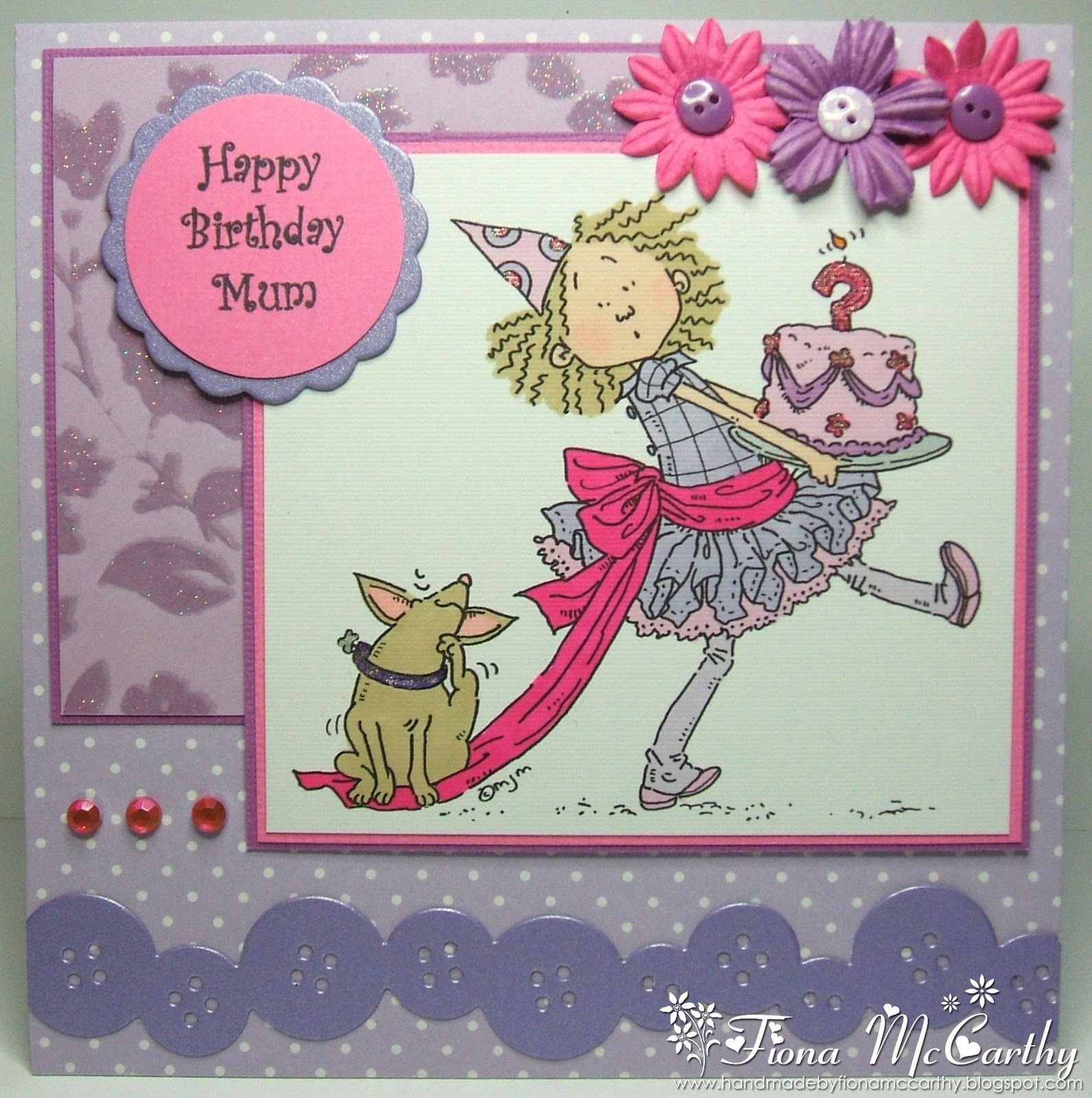 Homemade Birthday Card Ideas For Mom From Daughter