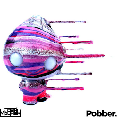 Candy Drip Bao Custom Vinyl Figures by Josh Mayhem x Pobber x Scott Tolleson