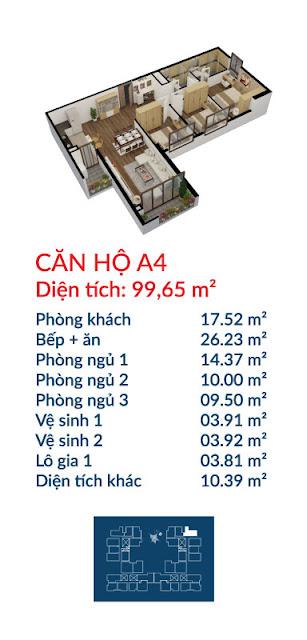 Căn hộ A4 Việt Đức Complex