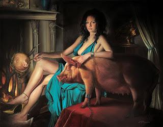 arte-estilo-surrealista-pinturas-con-mujeres mujeres-escenas-surrealistas