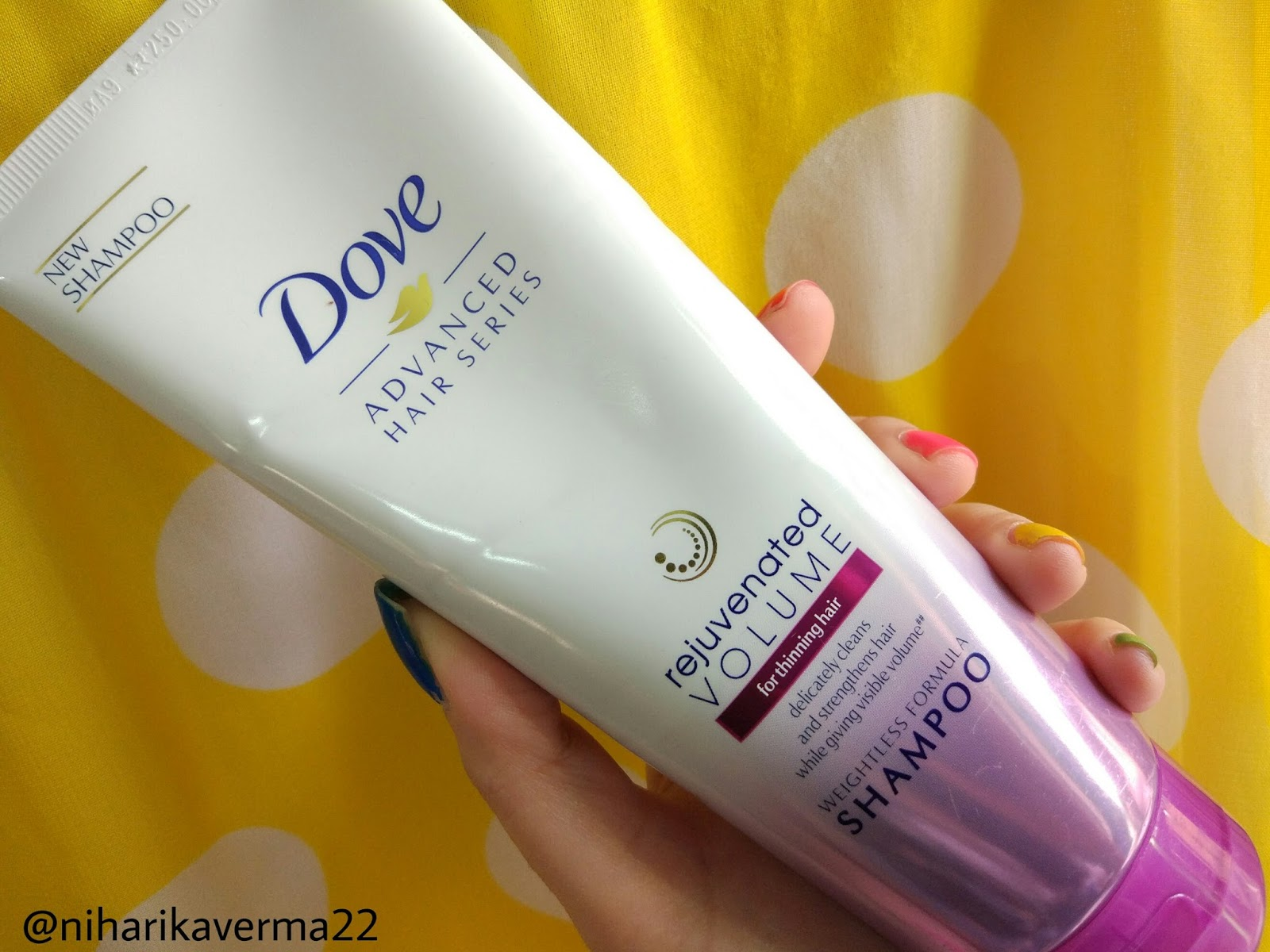 Dove Advanced Hair Series - Rejuvenated Volume Shampoo and Conditioner