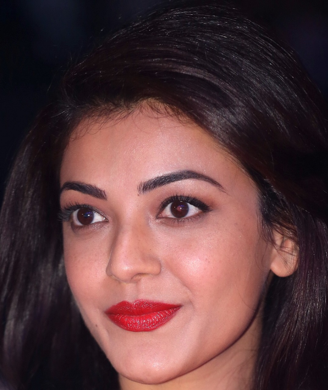 indian actress kajal aggarwal face close up photos - kajal aggarwal