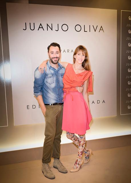 Juanjo Oliva, acompañado por Vega Royo-Villanova, Arancha del Sol, Alejandra Rojas y otras importantes celebrities, presentó su fantástica colección para Elogy.