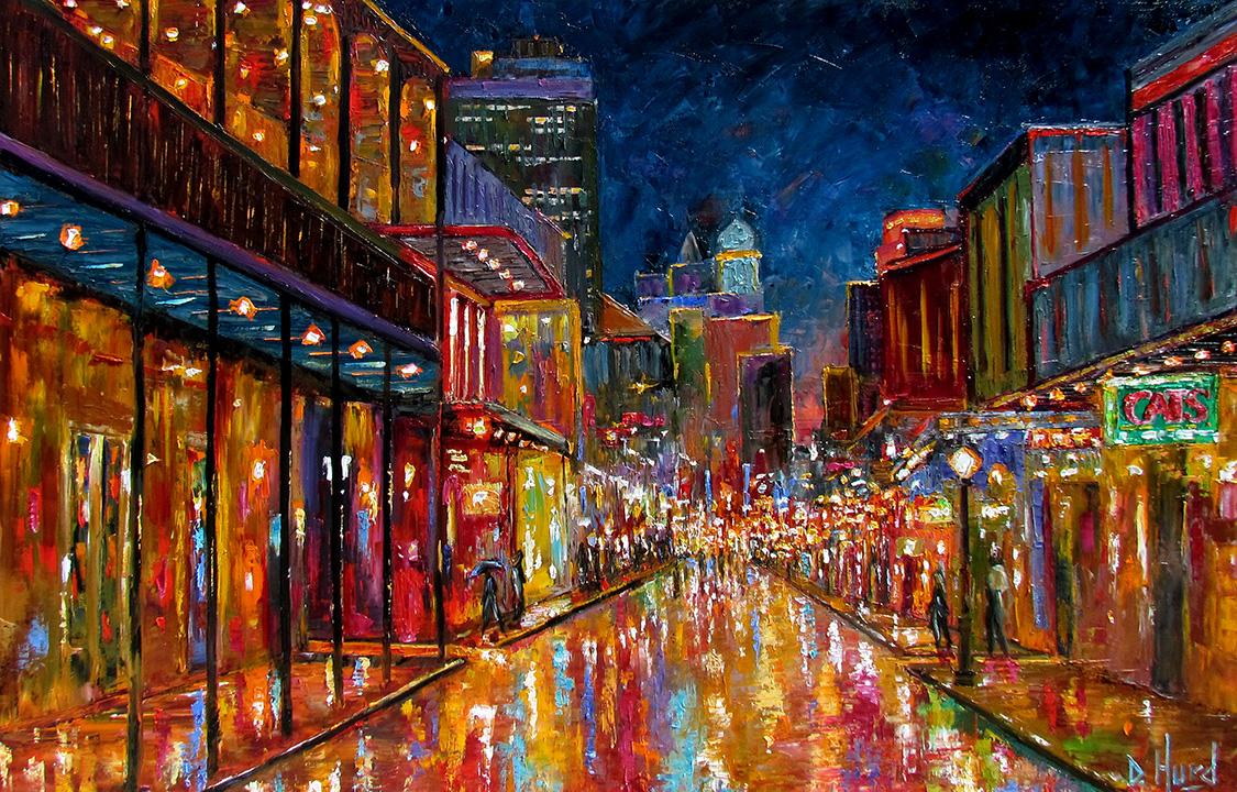 Debra Hurd Original Paintings AND Jazz Art: New Orleans ...