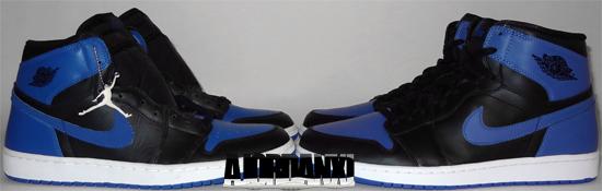 0ddfdd0677de2 Air Jordan 1 Retro Black Royal 2001 vs Air Jordan 1 Retro High OG Black Royal  2013