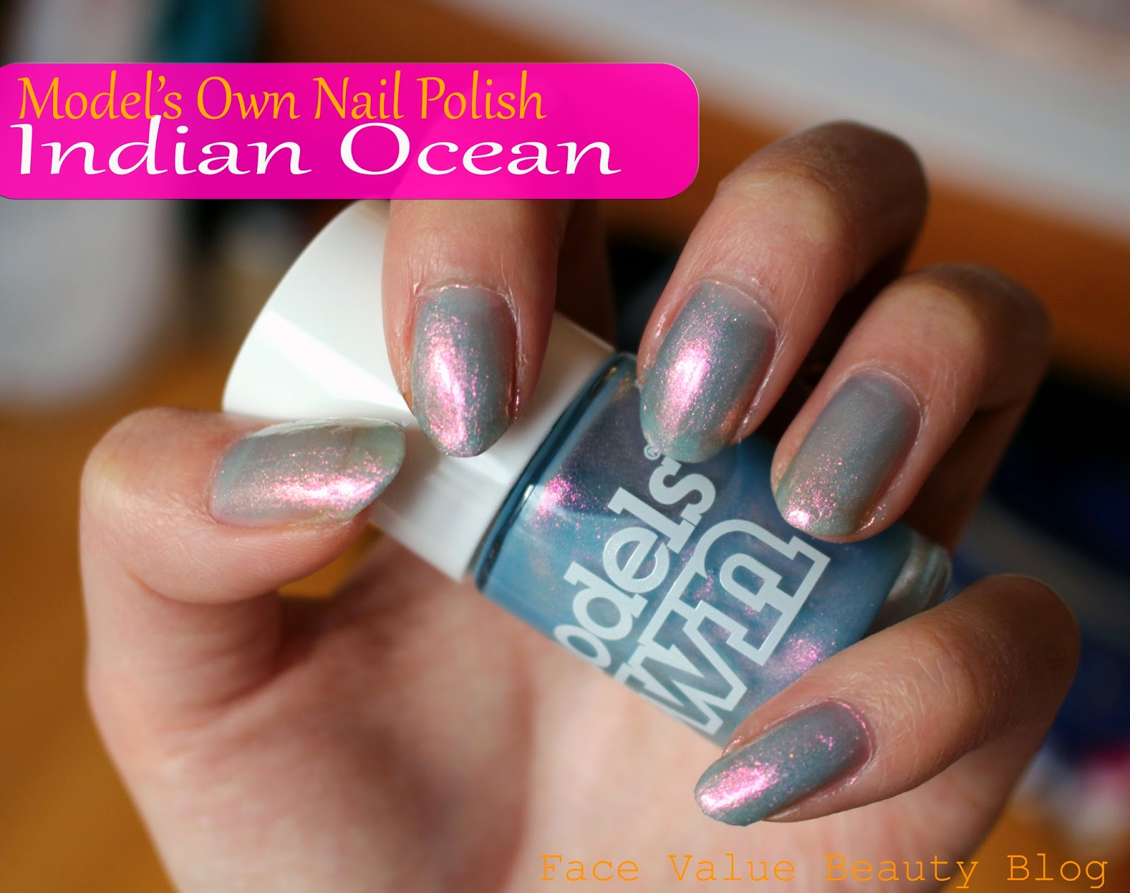 models own nail polish review indian ocean beauty makeup swatch