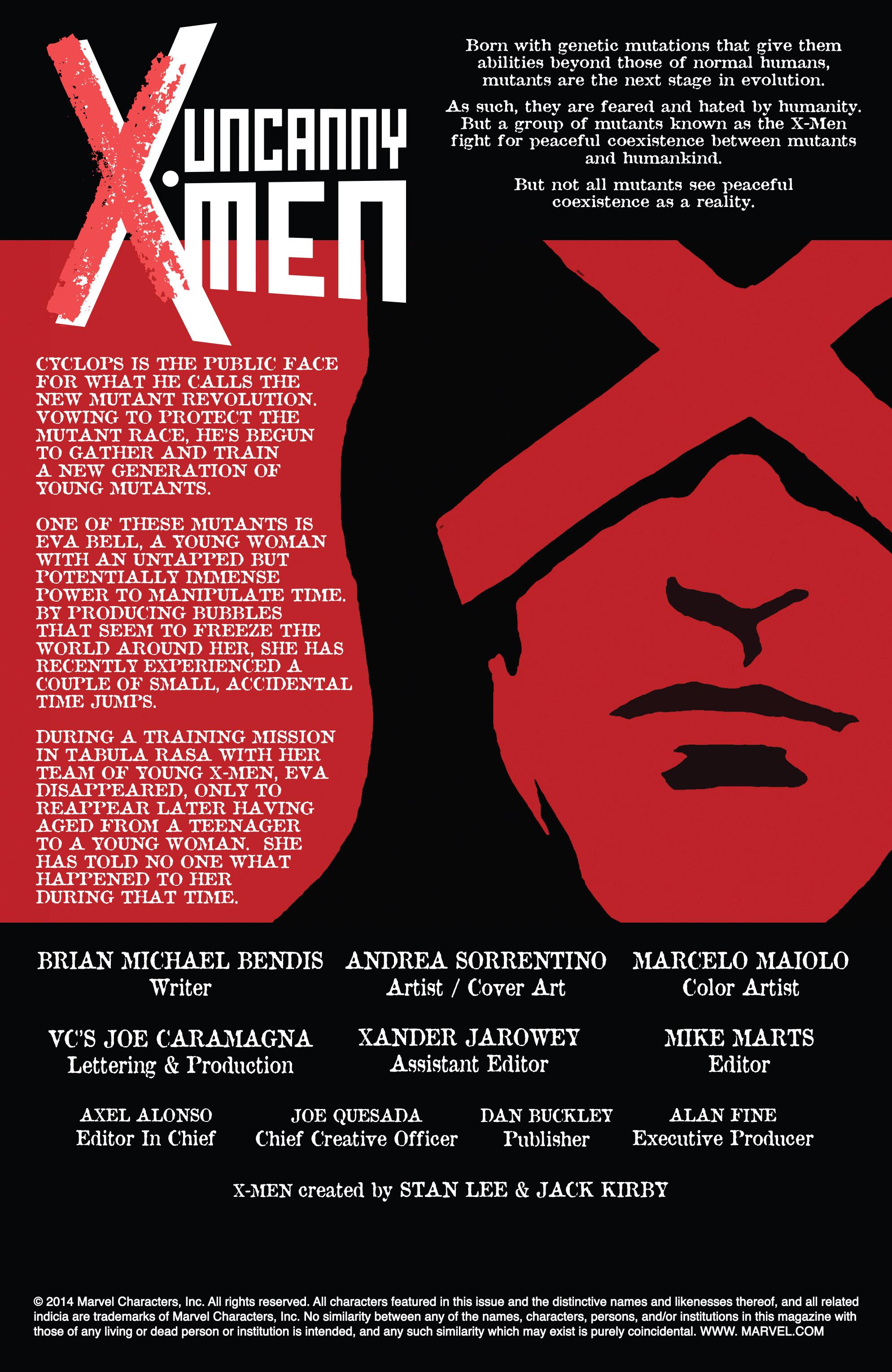 Read online Uncanny X-Men (2013) comic -  Issue # Annual 1 - 4