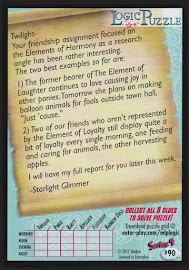 MLP Elements of Harmony Series 4 Trading Card