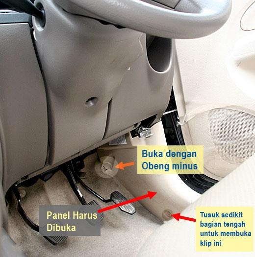 cara mematikan alarm grand new avanza e 1.3 manual mudah membuat tambahan ganda membuka sekring fuel pump