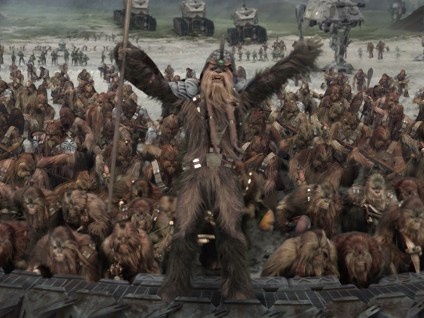 Go Behind The Scenes Of Star Wars Episode Iii Revenge Of The Sith Battle Of Kashyyyk Video The Geek Twins
