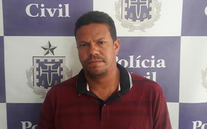 Polícia Civil prende em Ourolândia acusado de matar homem em Lages do Batata
