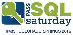 SQL Saturday Colorado Springs 2016