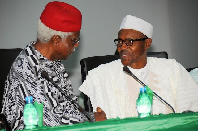 Image result for buhari and ekwueme