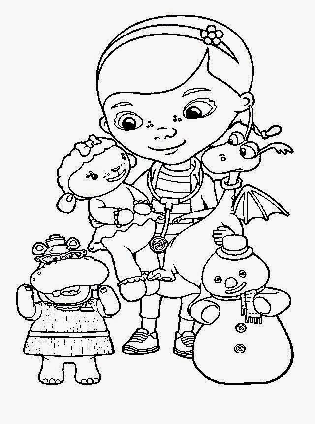 Dibujos Para Colorear Maestra De Infantil Y Primaria Doctora