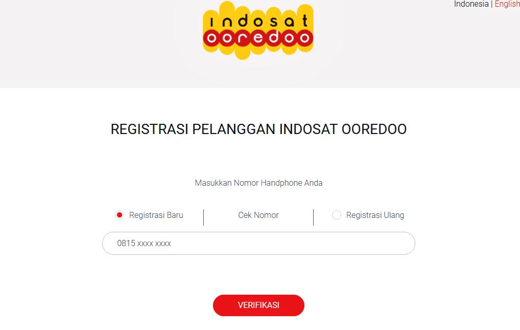 Cara Registrasi Ulang Kartu IM3 Oreedo Via SMS dan Online  Tips Android Terkini