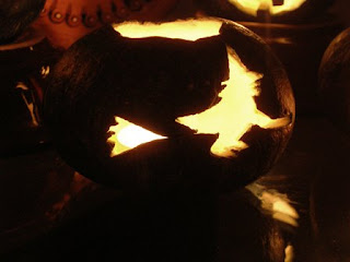bewitched pumpkin carving
