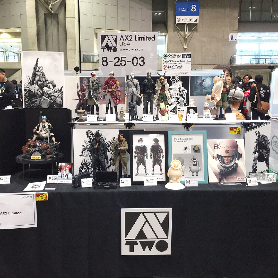 500d760d4faba0 ... the AX2 Limited's booth/table at the one-day-only event, courtesy of  images from Nori (IG @nixon_3AA), and you can further find details/connect  with AX2 ...