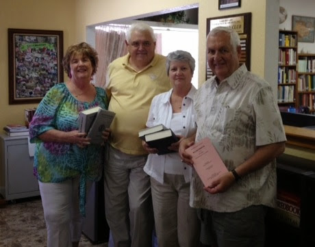 "NEW SET OF MAYFLOWER ""SILVER"" BOOKS donated to the Lake Havasu Genealogical Society"