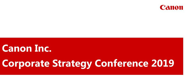 Canon Corporate Strategy Conference 2019 PDF Download