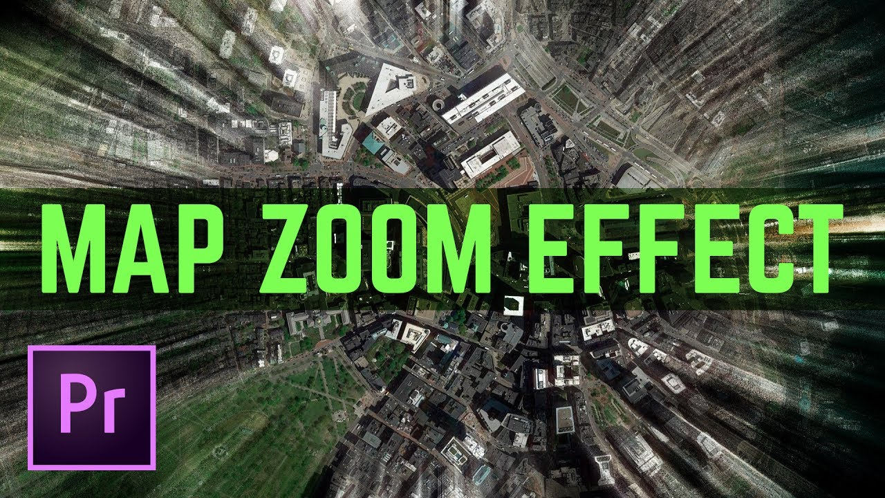 Map Zoom to Sky Effect – Fake Drone Video Transition Effect