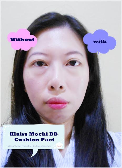 Klairs Mochi BB Cushion pact SPF 40 PA++