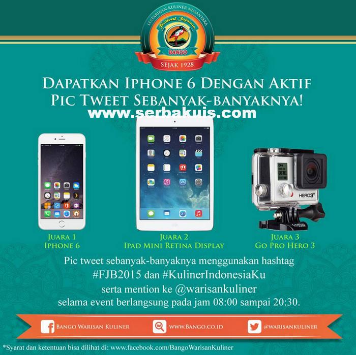 Kontes Pic Tweet di Festival Jajanan Bango Jakarta Berhadiah iPhone 6