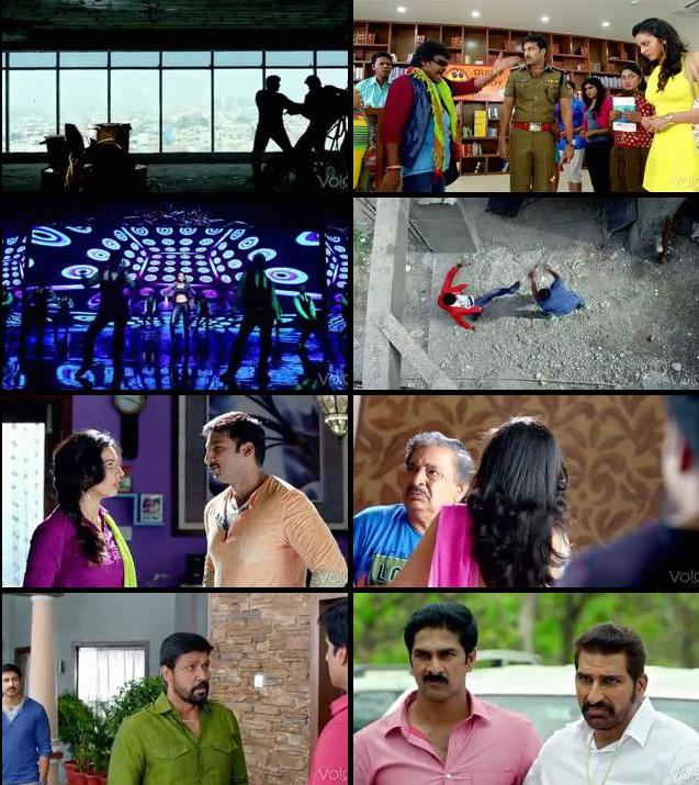 Loukyam 2014 Daul Audio Hindi Telugu DVDRip 480p