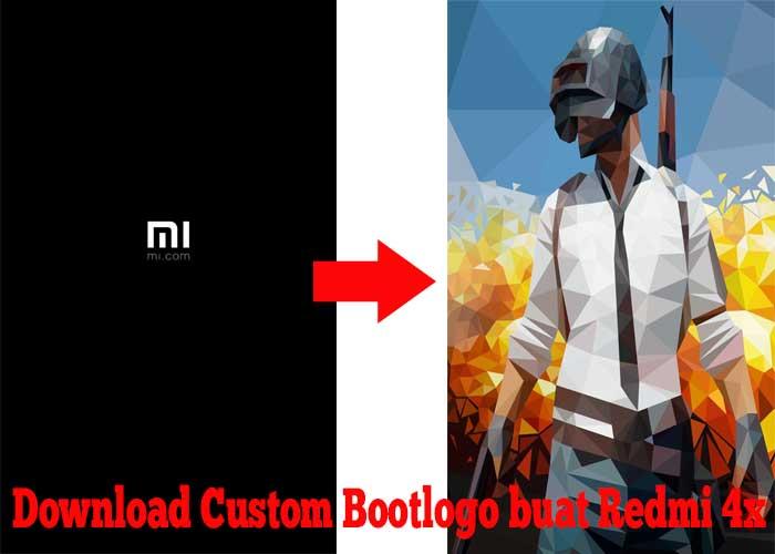 Download Bootlogo PUBG dan lainnya untuk Redmi 4x