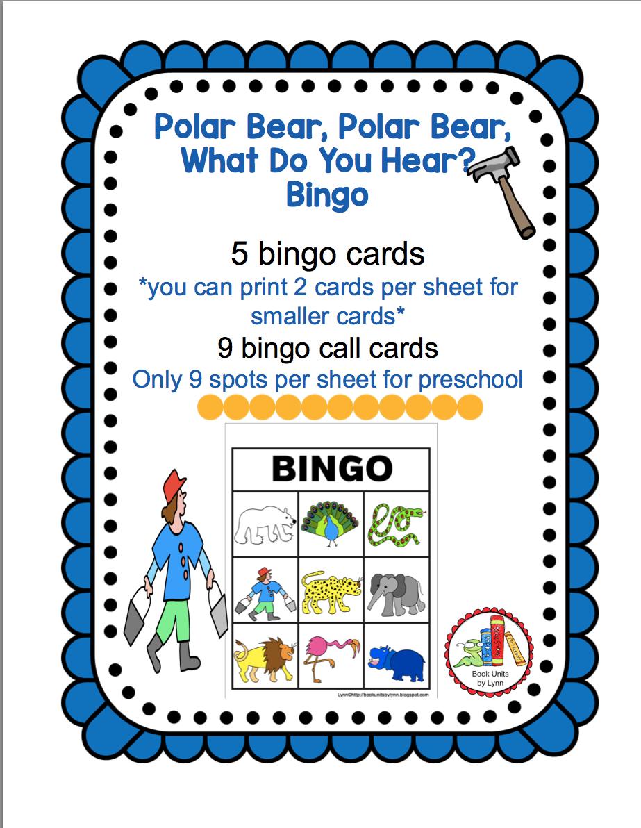 Hear Bear Sequencing Polar Do Bear Polar Cards You What