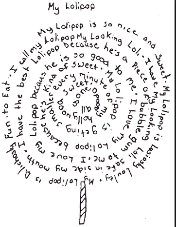 Poutokomanawa: WALT write a shape poem