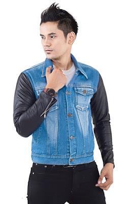 jaket jeans, jaket jeans pria, jaket jeans murah, jaket jeans original