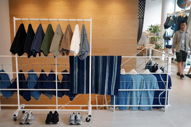 save khaki menswear shop shibuya japan