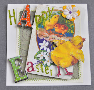 easter card craft image