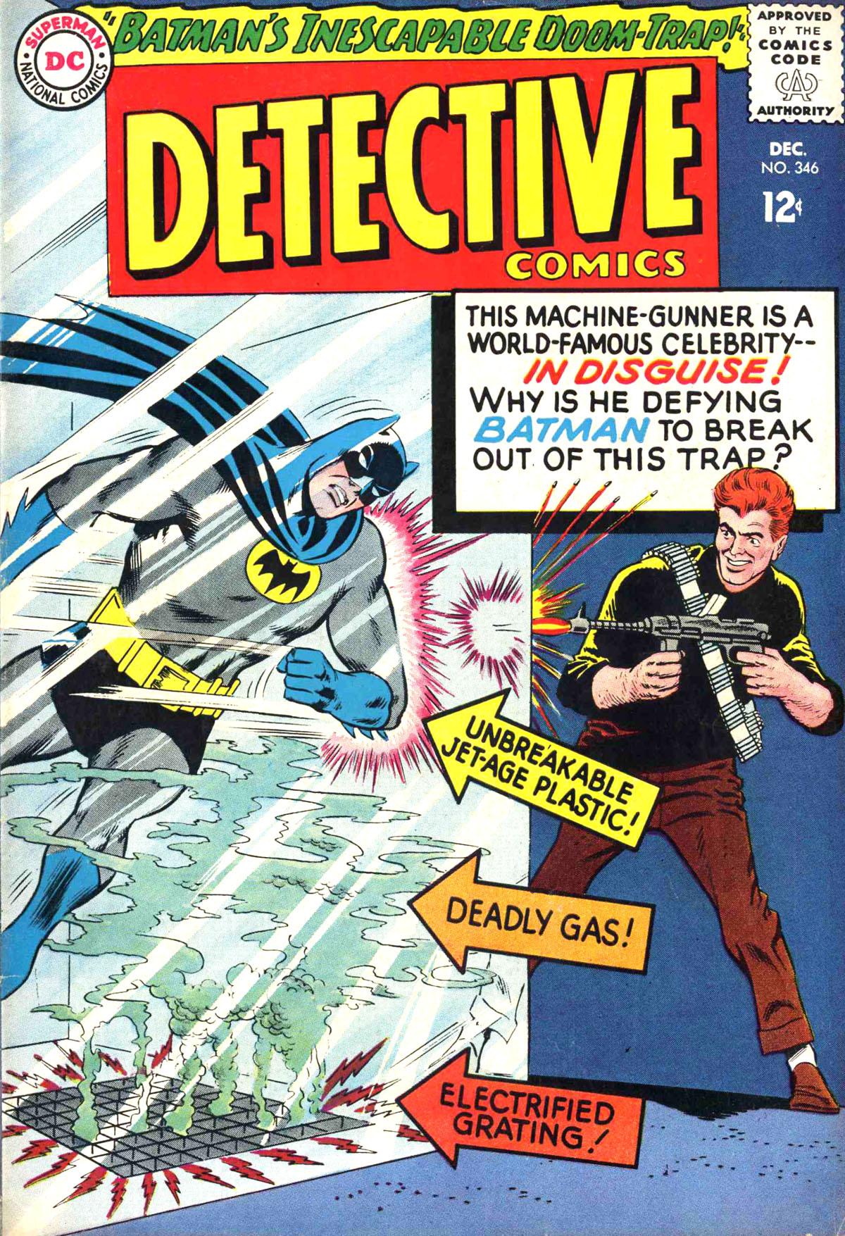 Detective Comics (1937) 346 Page 0