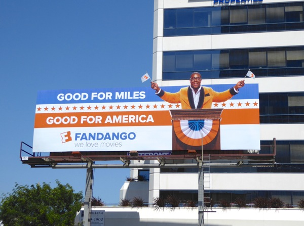Fandango Good for Miles Good for America billboard