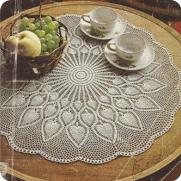 "Tapete ""Gran Sol"" a Crochet"