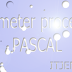 Belajar Parameter Dalam Procedure pascal