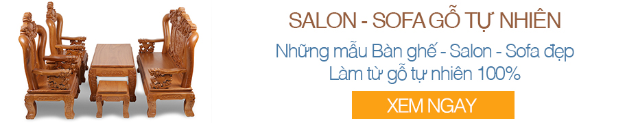 Bộ Salon Sofa Gỗ tại Dogonoithattaihue.com
