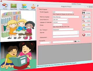 Aplikasi Perpustakaan Sekolah Portable Dan Gratis Lengkap Semua Menu