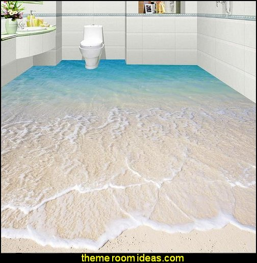 floor wallpaper bathroom floors 3D sea beach floor 3d mural PVC wallpaper  MURALS - door murals - wall murals - window sticker decals - ceiling murals - door posters - floor wallpaper - Styrofoam Crown Moldings - wall murals - wallpaper murals - floor decals - window wallpaper - Glow in the dark wall mural - decals for stairs