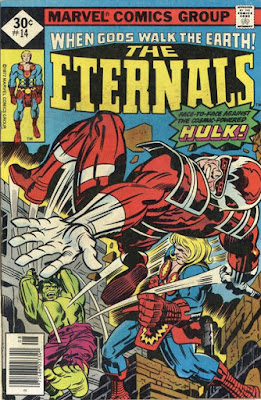 Eternals #14, the Hulk