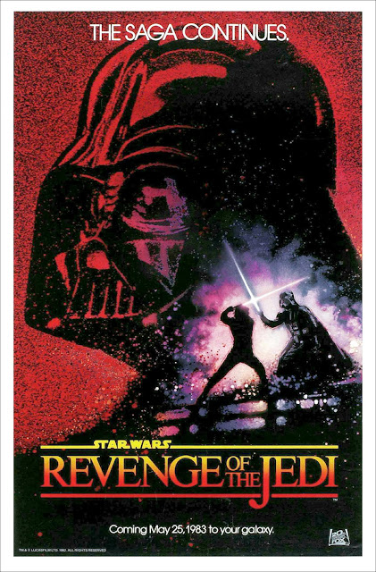 Revenge of the Jedi movie poster