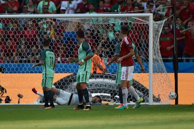 Bernd Storck, Cristiano Ronaldo, Dzsudzsák Balázs, EURO 2016, Gera Zoltán, magyar labdarúgó-válogatott, Magyarország, Portugália,